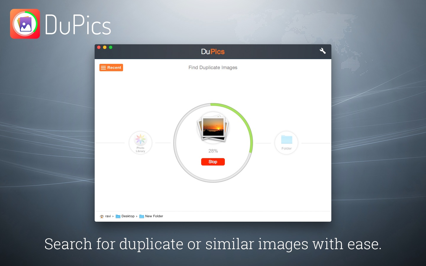 DuPics - Manage Duplicate and Similar Images on the MacAppStore