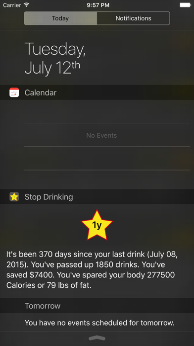 Stop Drinking Today screenshot three