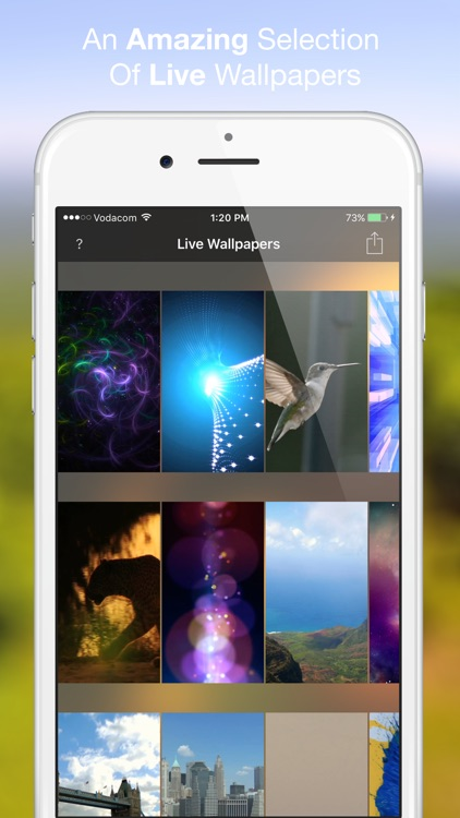 New Live Wallpapers - Cool Animated dynamic HD backgrounds themes for iPhone 6s and 6s Plus free