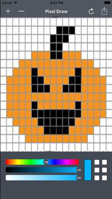Pixel Art Maker - Draw in Pixels & 8 Bit Graphics screenshot one
