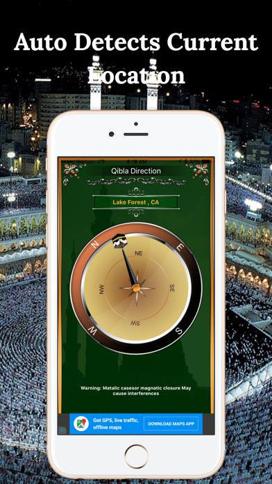 Qibla Compass-Find НаправлениеСкриншоты 3