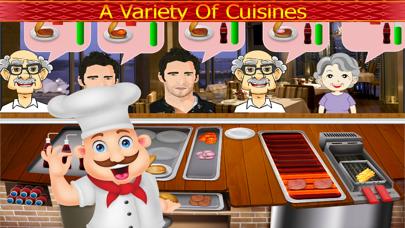 Chef Cooking Master Food Fever : Maker Hamburger,Hotdog,Pizza Free GamesScreenshot of 4