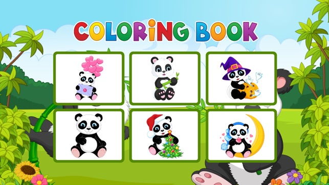 Panda Coloring Book - Painting Game for Kids on the App Store