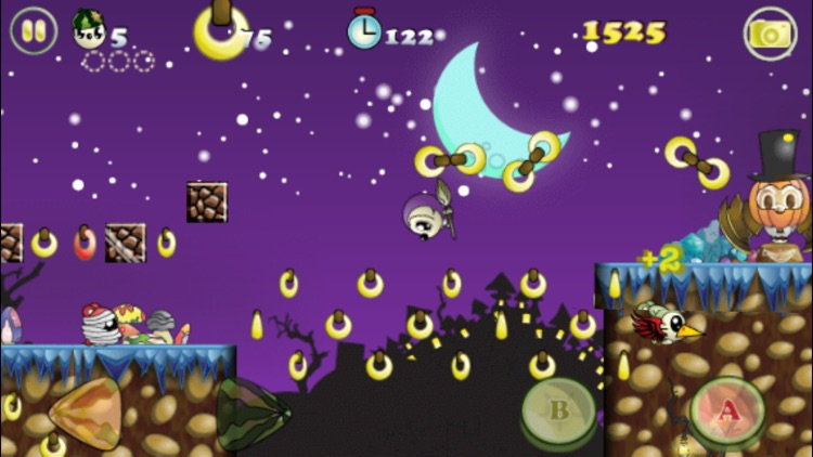 Monko Quest Halloween - Monkeys Graveyard Adventure screenshot-4