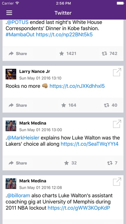 News Surge for Lakers Basketball News Pro screenshot-4