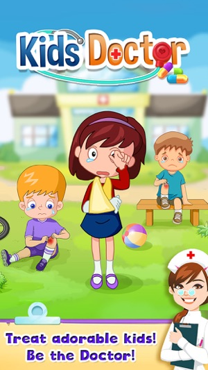 Kids Doctor Little Children Hospital Fun FREE Game on the