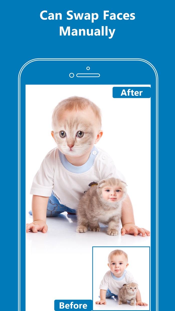 Face Swap App- Funny Face Changer Photo Effects Screenshot