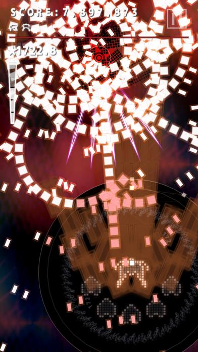 Screenshot from .Decluster Zero: Bullet Nocturne Lite - Bullet Hell Shmup