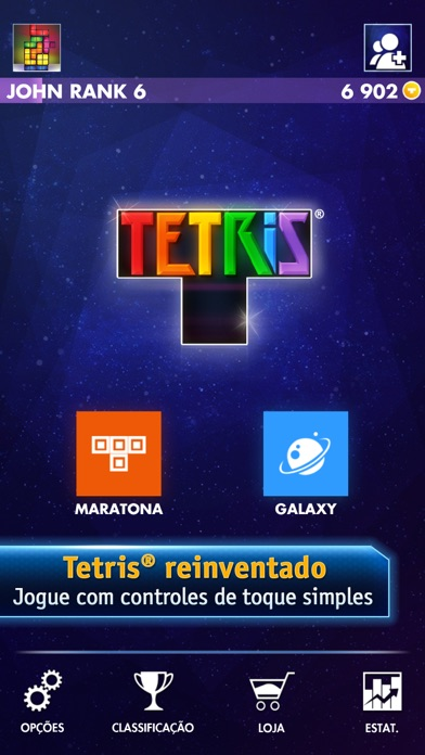 Screenshot for TETRIS® Premium in Brazil App Store
