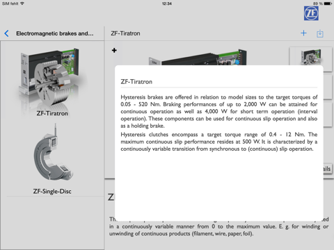 ZF XtraFair screenshot 4