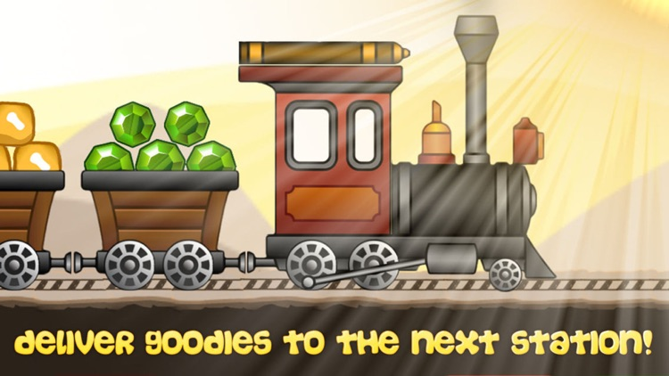 Train and Rails - Funny Steam Engine Simulator