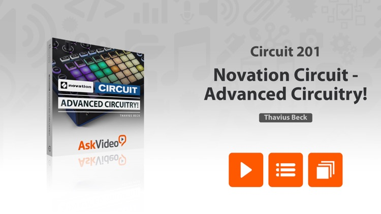 Adv. Course For Novation Circuit