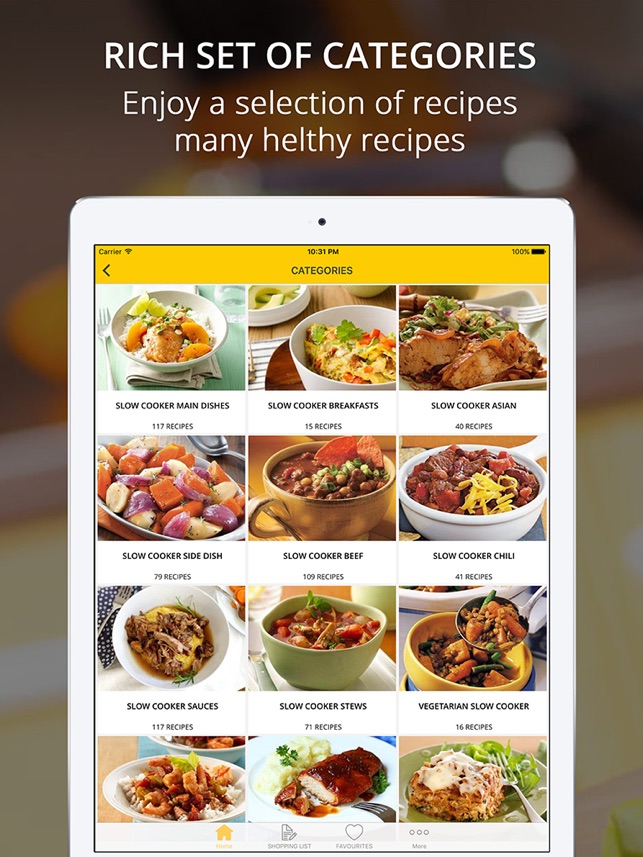 ‎Healthy Slow Cooker Recipes | cook and learn guide Screenshot