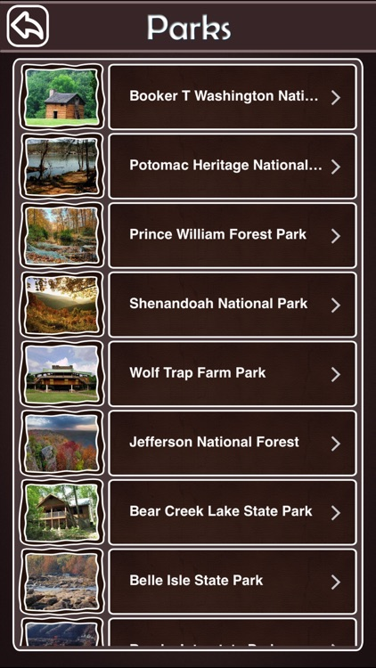 Virginia State & National Parks