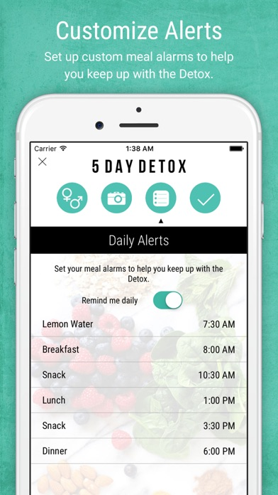 Screenshot for 5 Day Detox by Nikki Sharp in Norway App Store