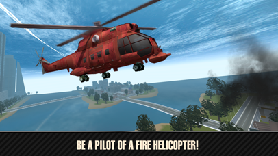 Emergency Fire Helicopter Simulator 3D Full