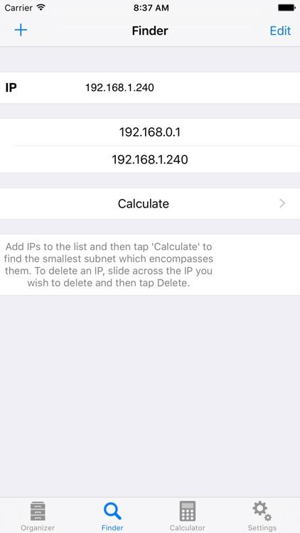 Subnet Calc Pro screenshot-4