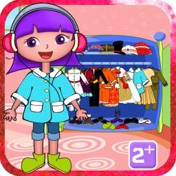 Las aventuras de Alicia visten - niños gratis juegos de aplicaciones educativas