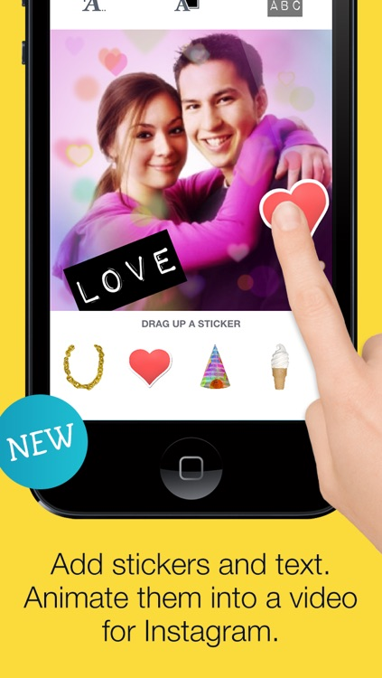 ImageChef - Mix text, photos and stickers into collages and video screenshot-3