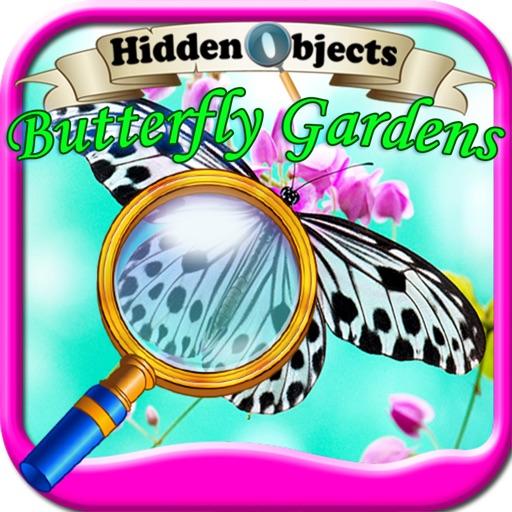 Hidden Objects Butterfly Gardens