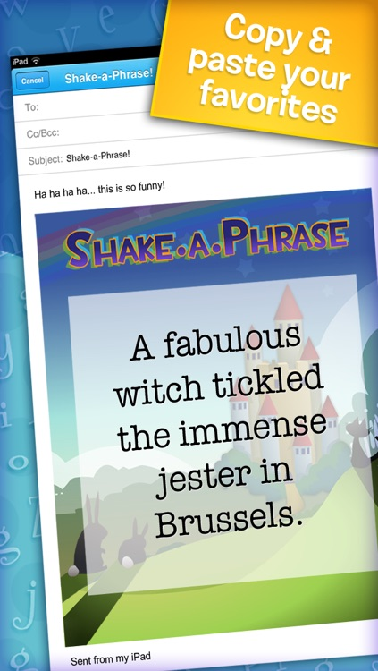 Shake-a-Phrase: Fun With Words and Sentences screenshot-4