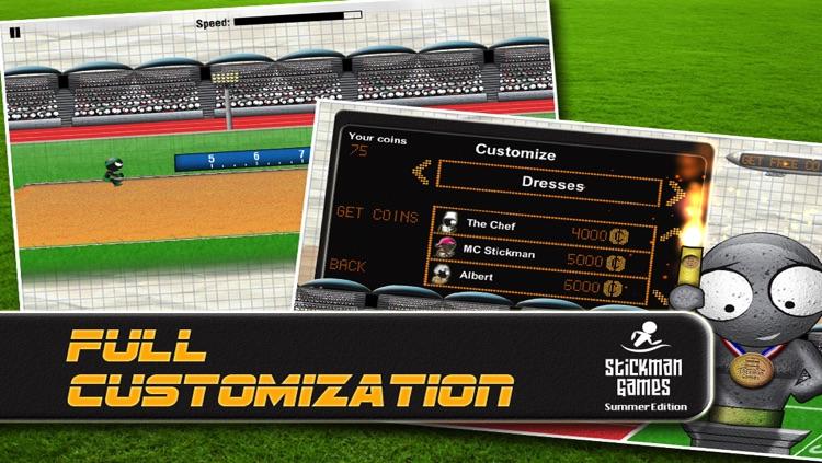 Stickman Games : Summer Edition screenshot-4