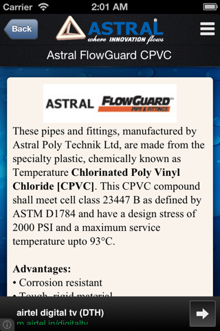 Screenshot of ASTRAL PIPES