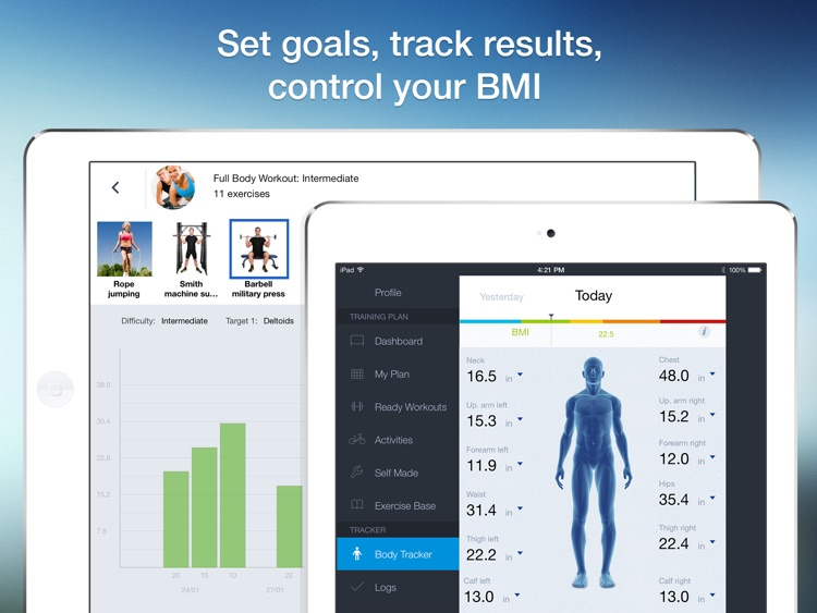 All-in Fitness HD: 1200 Exercises, 160 Workout Plans & Routines, Calorie Calculator