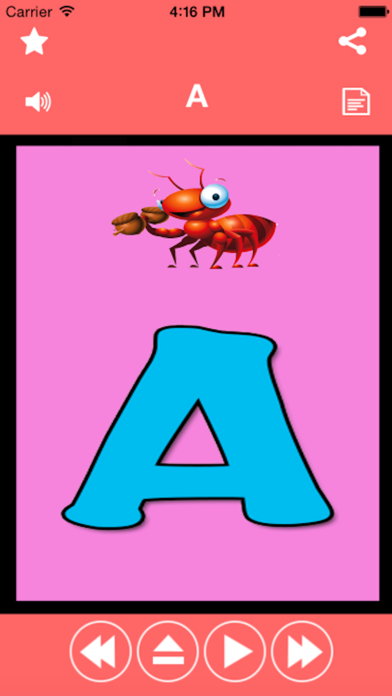 Abc Phonic Alphabet Puzzles Game for kids screenshot one
