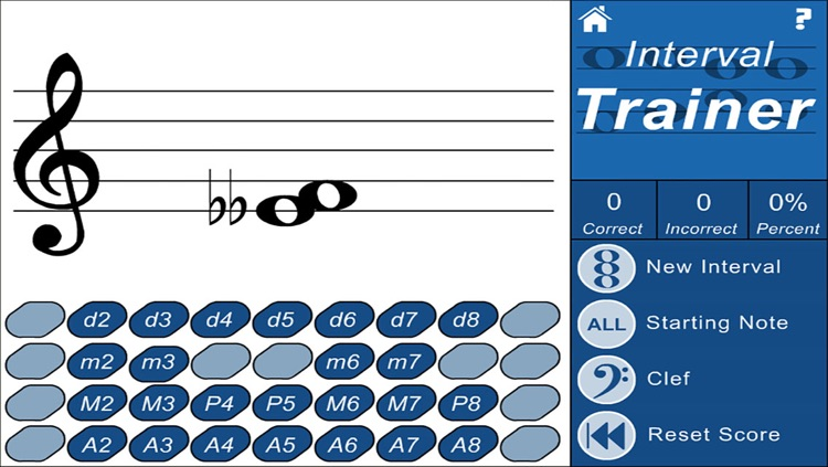 Intervals Ear and Note Trainer (Music Theory Drills)