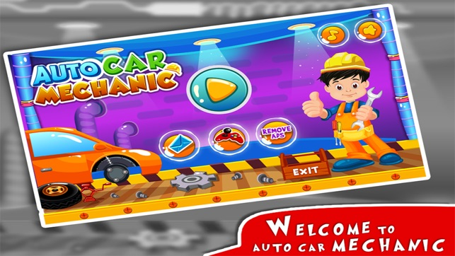 Auto Car Mechanic – Washing, Repair & Modify in Your Cars Garage Mania