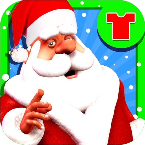 Santa dressup - Free Games icon