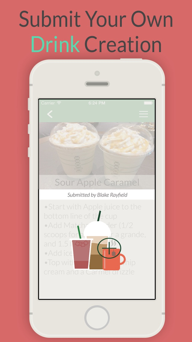 Secret Menu for Starbucks app image