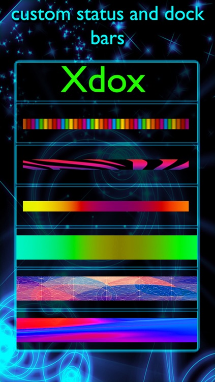 Xdox Gold : Pro Docks and Locks : lock & home screen overlay designer screenshot-1