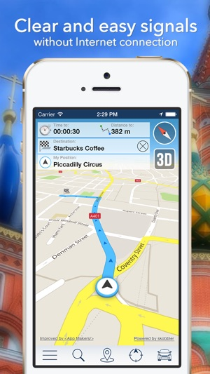 Tunisia Offline Map City Guide Navigator Attractions and