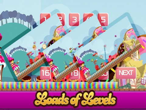 Candy Land Defense - Fun Castle of Fortune Shooting Game FREE-ipad-2