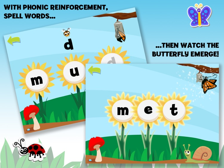 Brainy Bugs Preschool Games screenshot-1