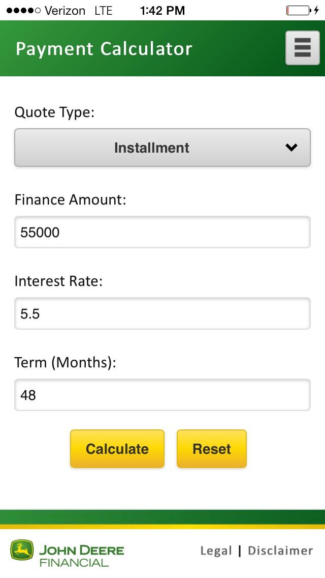 payment calculator app price drops
