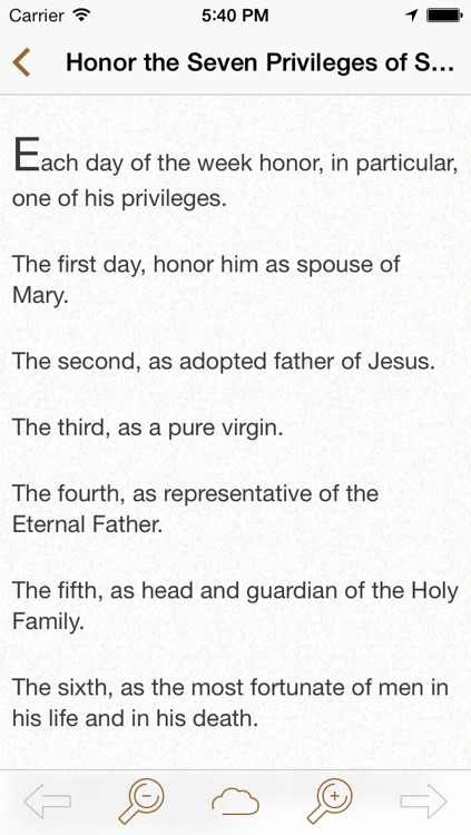 Saint Joseph: Catholic Meditations for Every Day in a Month screenshot-4