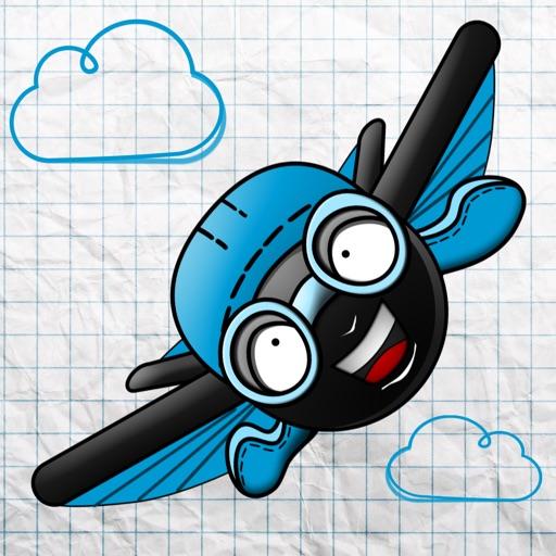 Stick-man Wingsuit - Бесплатные Прикольные Леталки Игры Для Детей, Парней И Девушек
