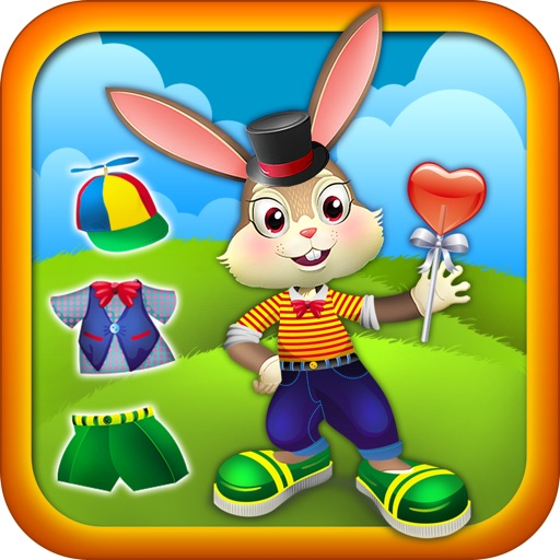 Cute Bouncy Bunny Rabbit - Dressing up Game for Kids - Advert Free