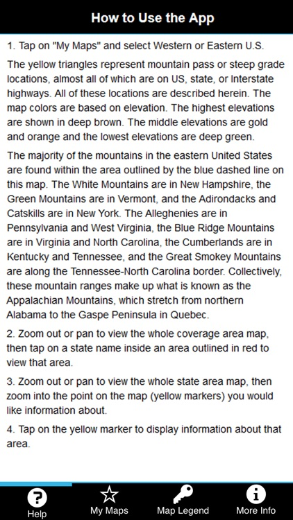 Mountain Directory East and West Combined screenshot-3