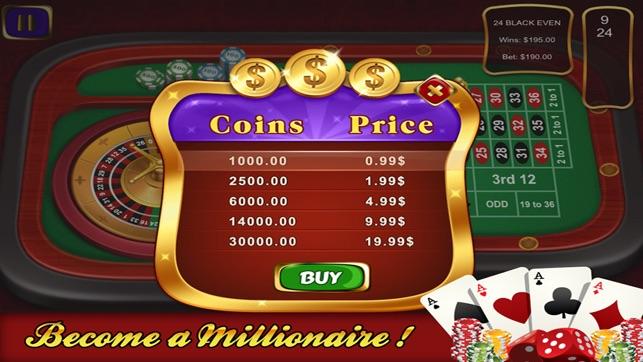 Gambling theme party supplies