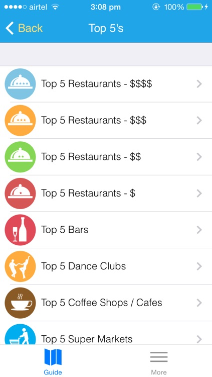 Top5 Houston Free Travel Guide and Map by Innate LLC