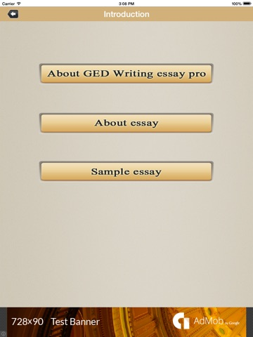hints for ged essay writers Hints for ged essay writers these hints were prepared by the actual readers who score the ged essay for texas and other states this is designed to help ged candidates prepare for the essay portion of the writing skills test.