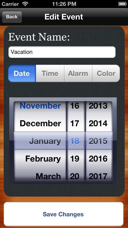 Countdown to Big Days Widget - Events Countdown screenshot-3