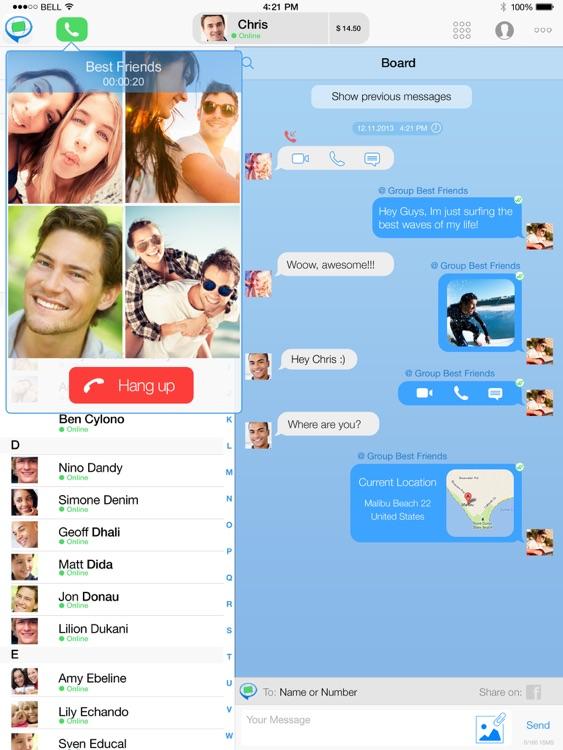 FriendCaller HD Video Chat