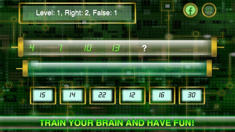 Sequences - train your brain professional