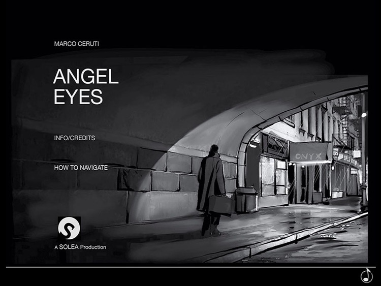 Angel Eyes Interactive Graphic Novel screenshot-0