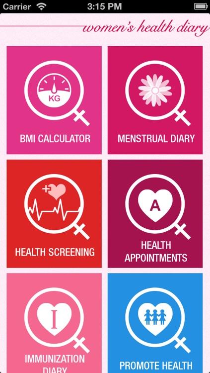 Women's Health Diary 2